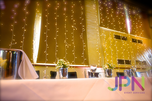 Wedding Fariy Light Backdrop Hire